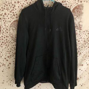 Adidas zip up hoodie
